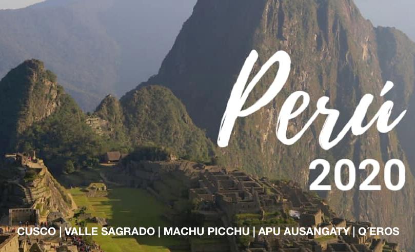 Viaja a Perú este 2020 con Escuela Cristal